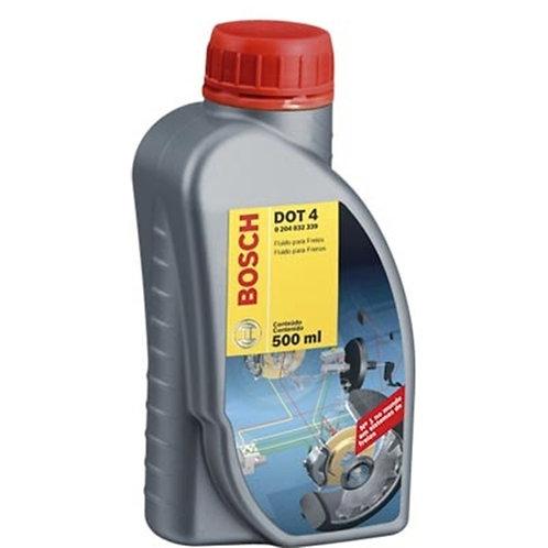 Fluído para Freios 500ml Bosch DOT 4