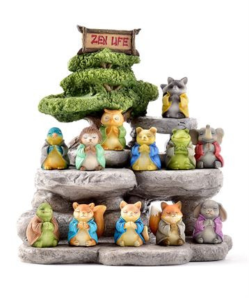 Zen animals looking for a peaceful home