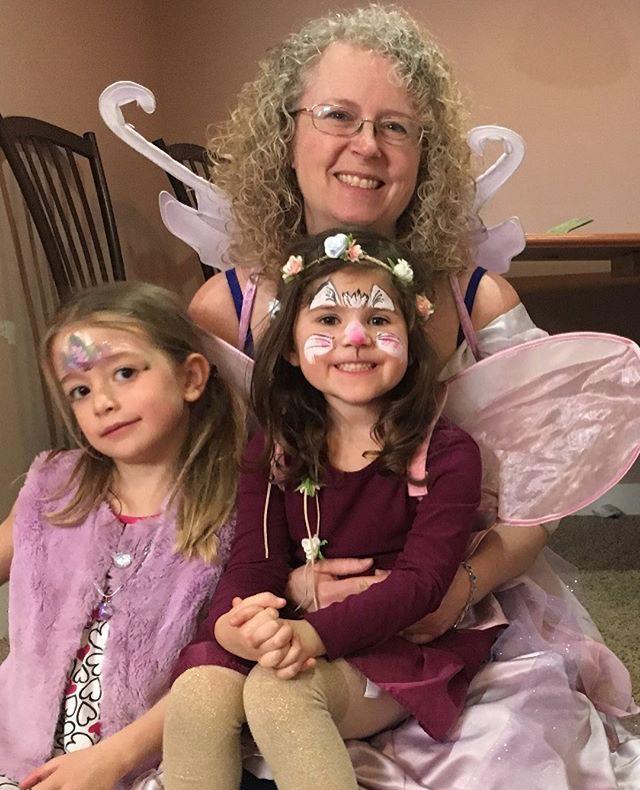 Fairy Terri with children