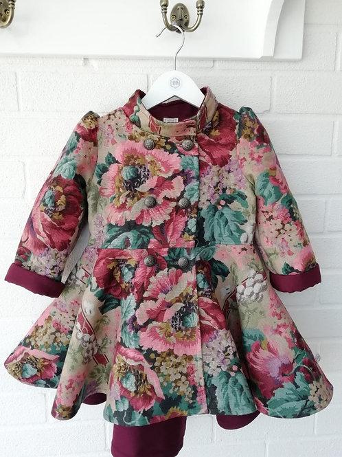 Florence- Berry Deluxe Coat