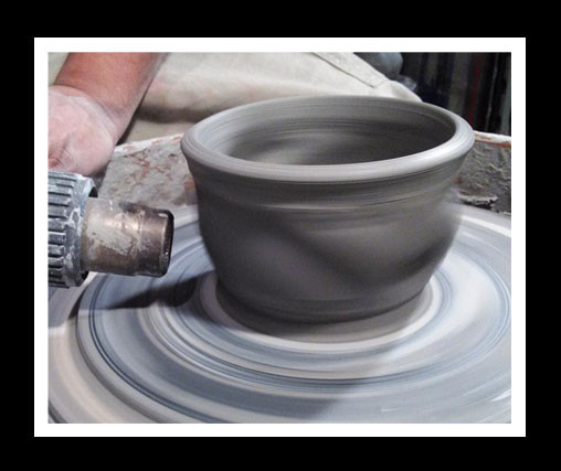 Tea bowl Texture