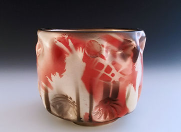 Handmade Pottery Tea bowl