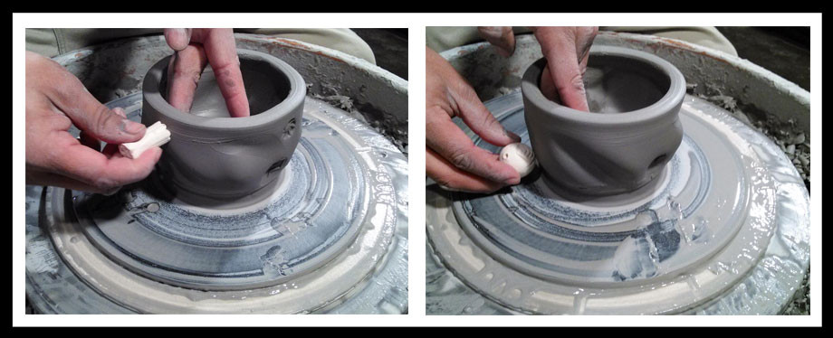 Stamping Pottery