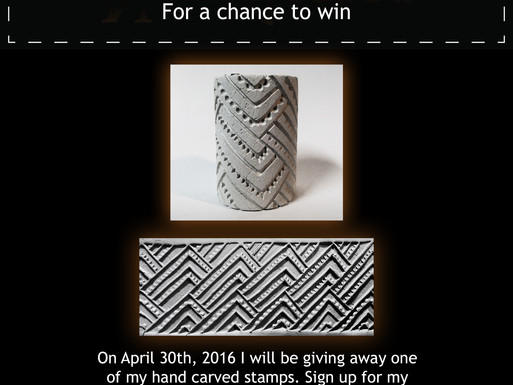 Pottery GIVEAWAY!!!