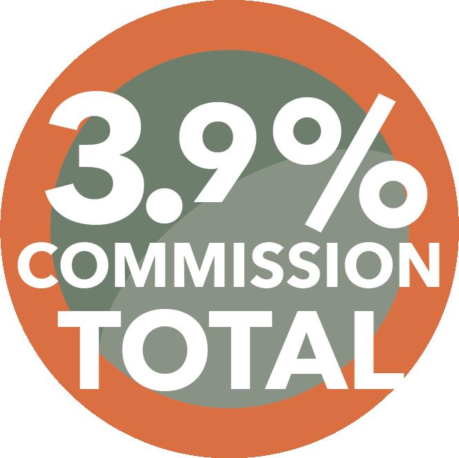 3.9% Total Commissions