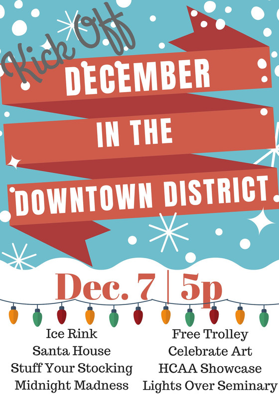 December in the Downtown District