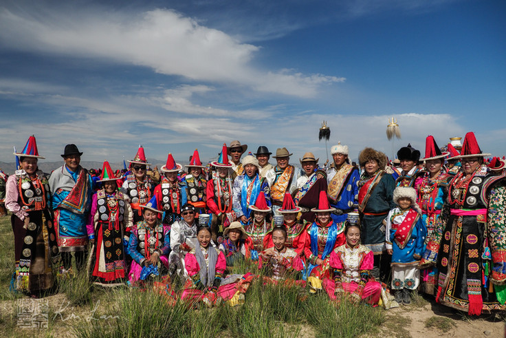 HAIXI MONGOL NAADAM : Mongols in Tsaidam, Qinghai China