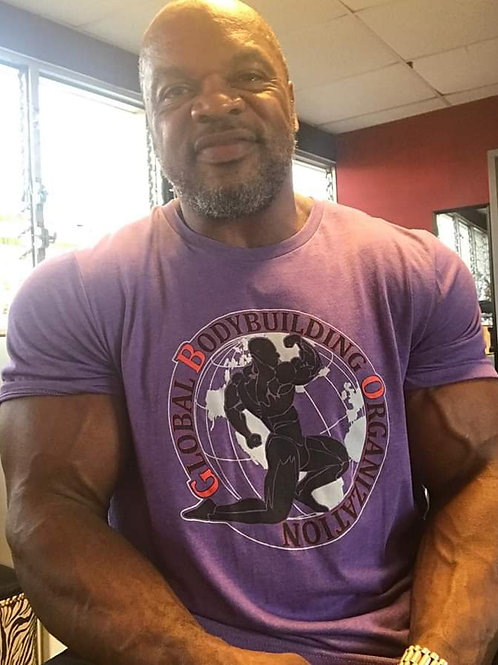 """Global Bodybuilding """"Here We Grow"""" T-shirts"""