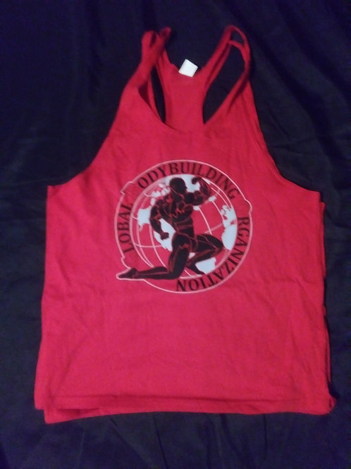 Men Stringers Global Bodybuilding Logo