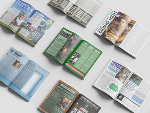 Bluff Europe - Magazine spreads