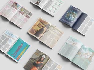 Quality World - Magazine spreads