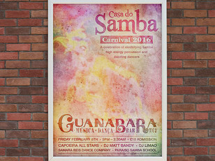 Guanabara - Event poster