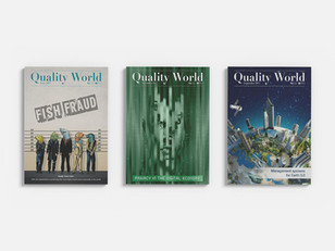 Quality World - Magazine covers