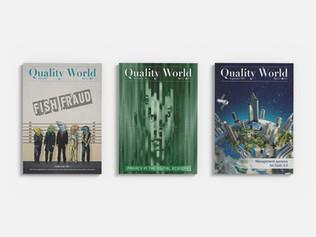 Quality World - Magazine covers