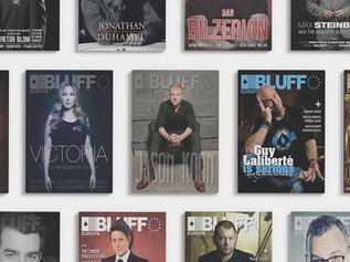Bluff Europe - Magazine covers