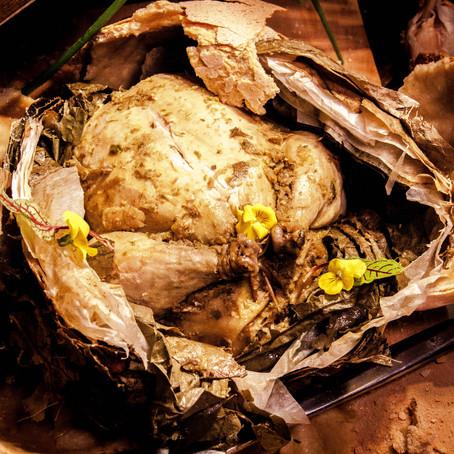Recipe for the Beggar's Chicken (jiào huā jī, 叫化鸡)