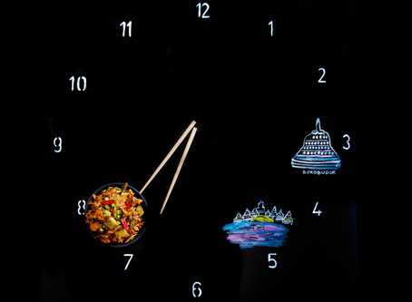La hora de nasi goreng