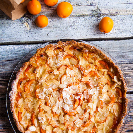 Recipe for the apricot tart