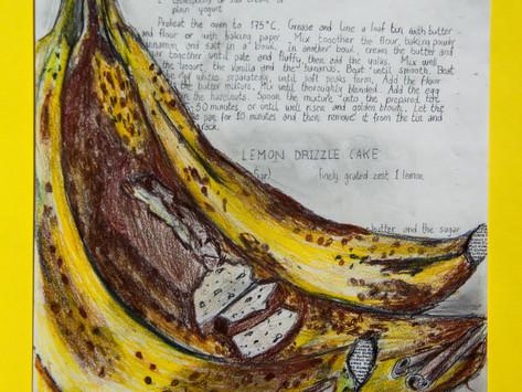 Pan de Banana y Nueces