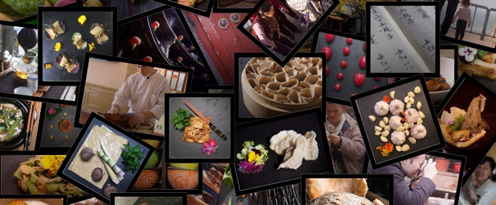 Memories: food, faces, places, tastes, history, life.