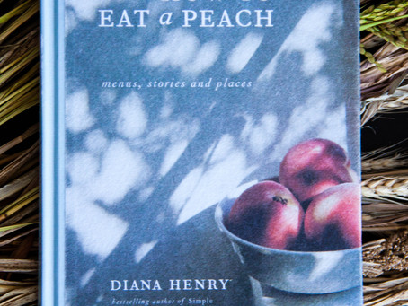 How to eat a peach. The cookbook club - fourth meeting