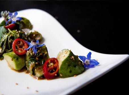 Recipe for the smashed cucumber salad (拍黄瓜 pāi huángguā)