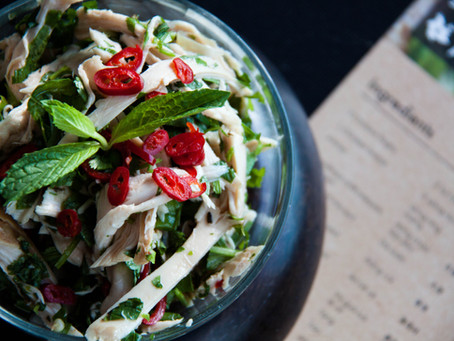 Recipe for the Yunnan shredded chicken salad