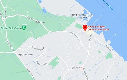 Hythe & Dibden CC map.png