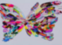 hArt. Art Therapy. Art Psychotherapy. Lymington charity. Social Prescribing. Group art sessions. Feathers. Butterfly.