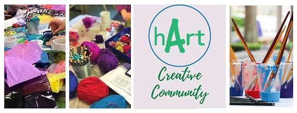 hArt Creative Community Facebook Cover