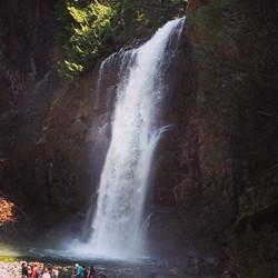 Franklin Falls Waterfall