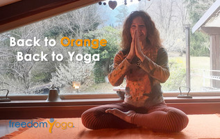 Back to Orange Back to Yoga