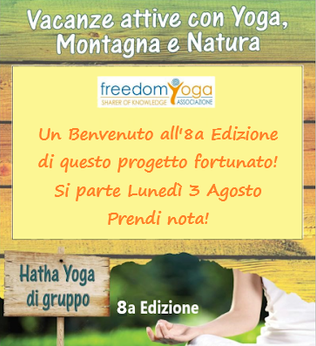 Vacanze Yoga Montagna e Natura 8a edizione 2020
