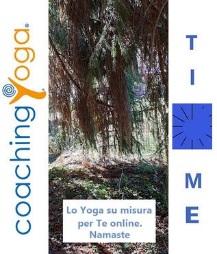 CoachingYoga Time - Lo Yoga su misura per Te online!