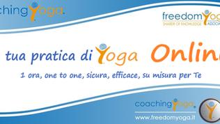 CoachingYoga one to one Online via Skype