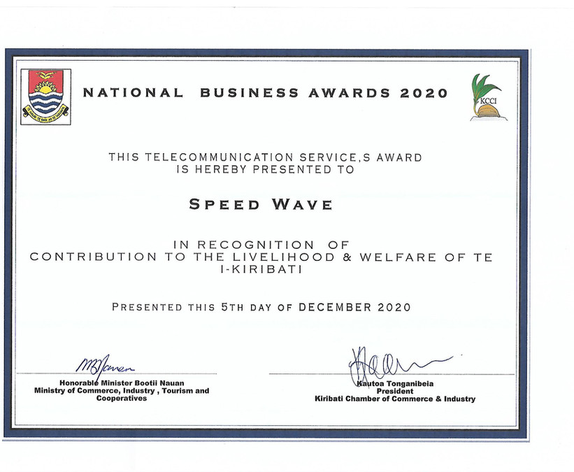 National Business Awards 2020 (Wave Tv).