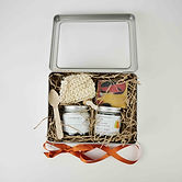 Gift Set Body Butter 120ml Naked Soy Can