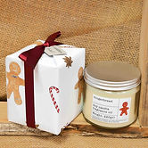 Gift Wrap Gingerbread Soy Candle 220g.jp