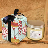 Gift Wrap Christmas Spice Soy Candle 220