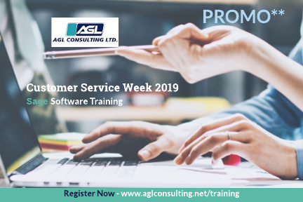 Customer Service Week 2019 - Sage Software Training Promo