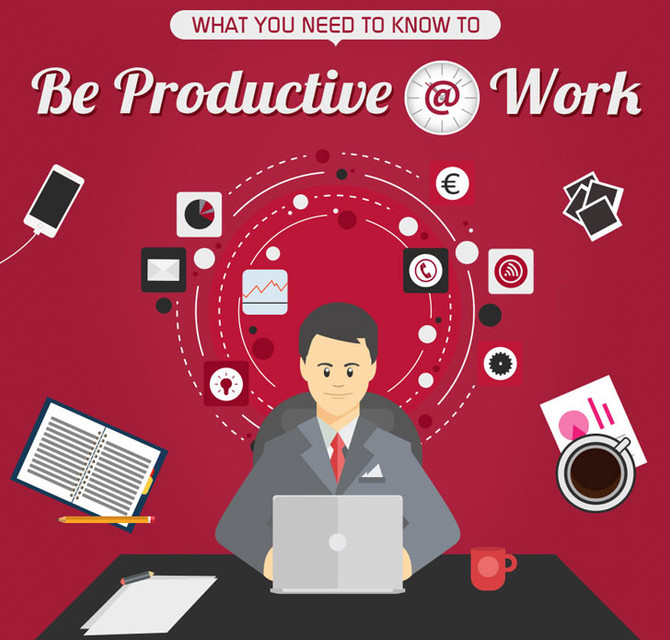 What you need to do to be productive @ work...