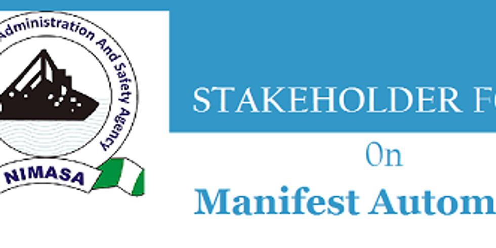 NIMASA_AGL Stakeholder Forum on Manifest Automation