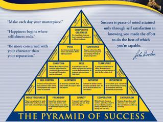 John Wooden's Pyramid of Success