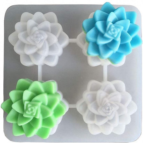 Succulent Silicone Candle Mold