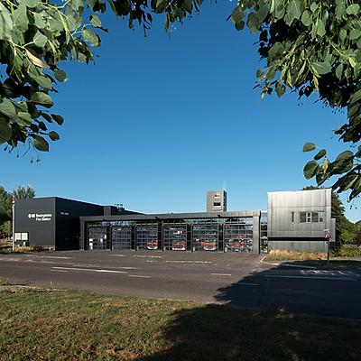Hampshire County Architects - Basingstoke Fire Station