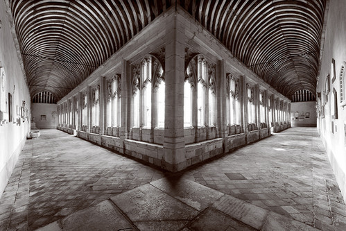 Winchester College Cloisters