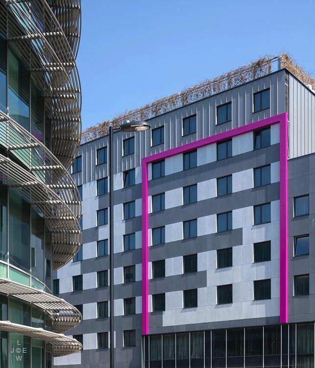 Moxy Hotel, Southampton (Detail)