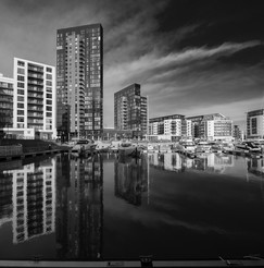 Ocean Village with Reflections