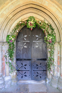 North Door, St Cross Chapel, Winchester