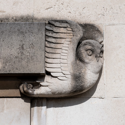 Owl on Southampton Civic Centre, (Deco)